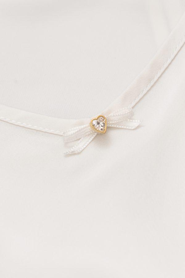 Celine Silk Slip in Ivory